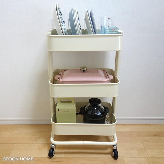 Ikea Raskogキッチンワゴンの収納アイデア・使い方をブログレポート