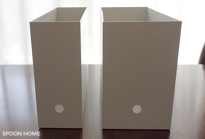 送料無料・ダンボール製ファイルボックス横型 A4サイズ対応 315×256×82mm 「50枚」 [2070-CA-6001N]