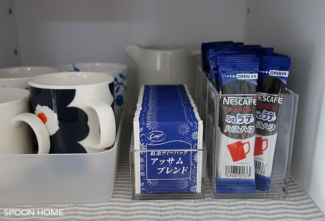 お茶・紅茶のティーバッグ収納方法のブログ画像