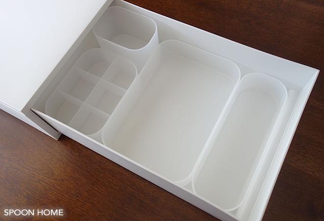 無印良品のポリプロピレンメイクボックスのブログ画像