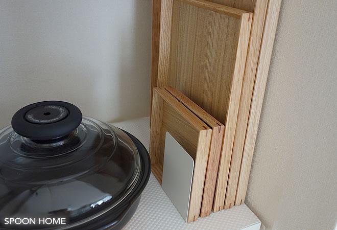 無印良品収納グッズのトレー収納方法のブログ画像