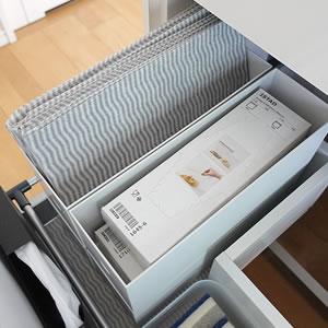 キッチンダスターの収納アイデア。無印良品や100均、IKEAのおすすめ収納グッズをご紹介