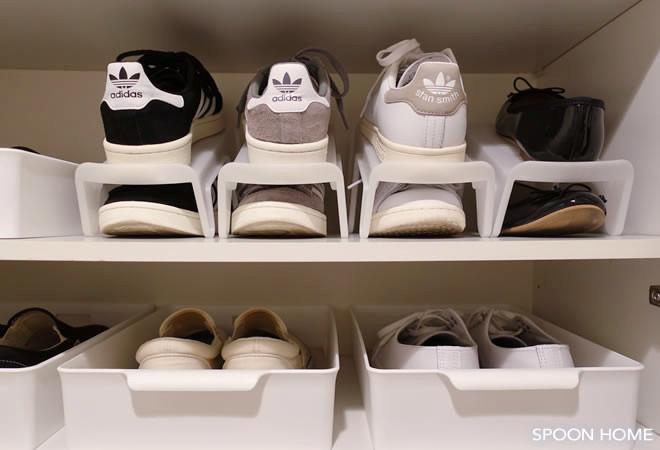 靴の収納方法とアイデアのブログ画像