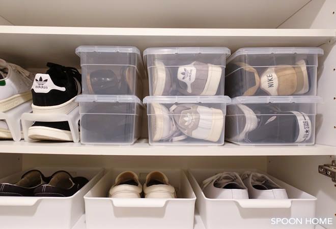 下駄箱の靴収納におすすめ。おしゃれで使いやすい100均の整理