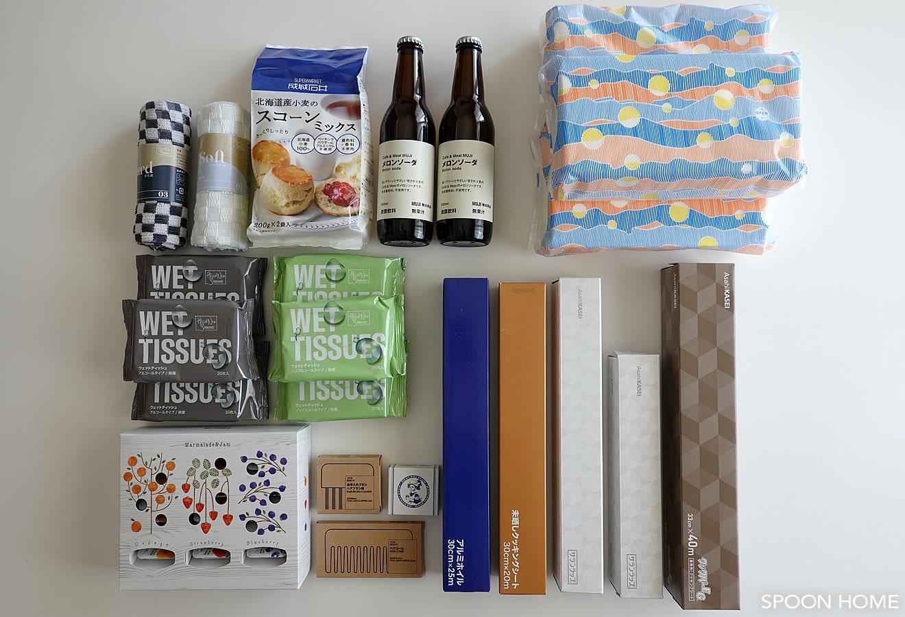 2020年に購入したロハコのおしゃれなパッケージ商品画像